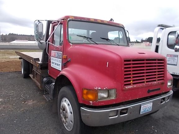 1996 International 470 Flatbed Or Tow Truck Used